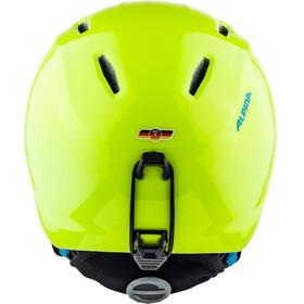 Alpina Carat LX - Casco de bicicleta - amarillo